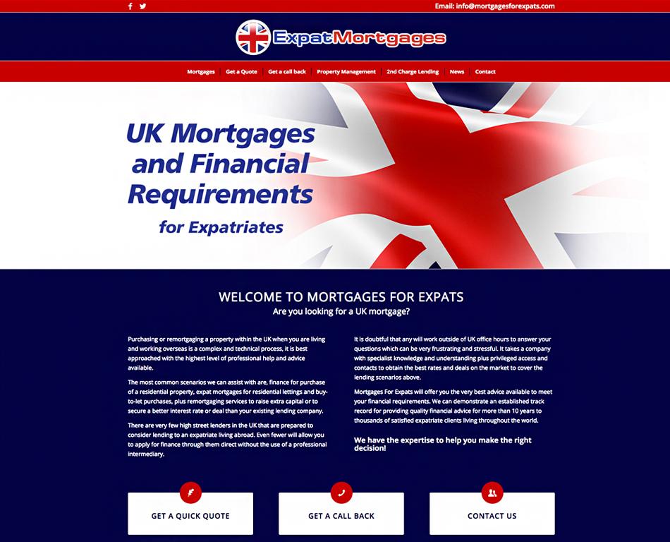 Mortgage Advisors - Imagine   Creative web design & development